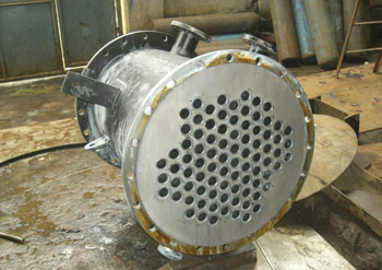 Double Tube Sheet Type Heat Exchanger