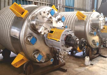 Chemical Equipments, SS Chemical Reactor Manufacturers In Mumbai